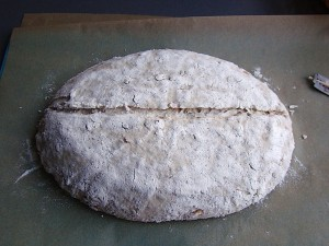 DSC09309 copy 300x225 Paine cu 4 graunte   Four Grain Levain