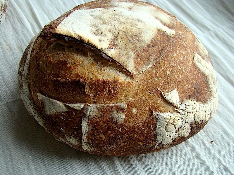 DSC09468 copy Painea cu gust de acasa   Simple Sourdough Bread