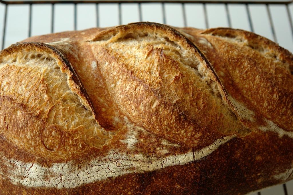 paine alba 03 Paine simpla cu maia   metoda 1:2:3