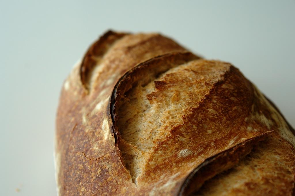paine alba 04 Paine simpla cu maia   metoda 1:2:3