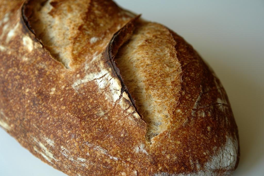 paine alba 07 Paine simpla cu maia   metoda 1:2:3