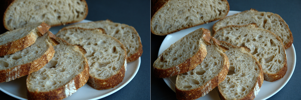 paine alba feliata Paine simpla cu maia   metoda 1:2:3