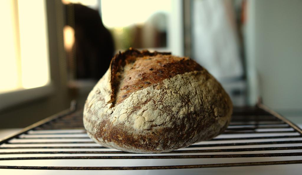 paine cu seminte 02 Paine cu seminte   Sourdough Seed Bread