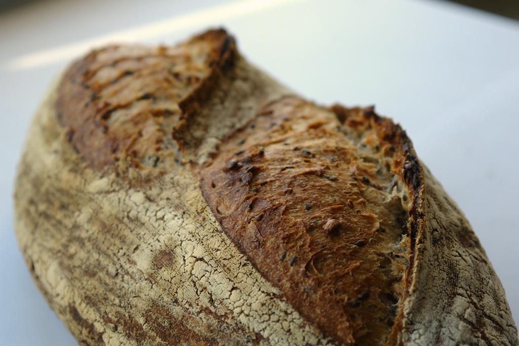 paine cu seminte 04 Paine cu seminte   Sourdough Seed Bread