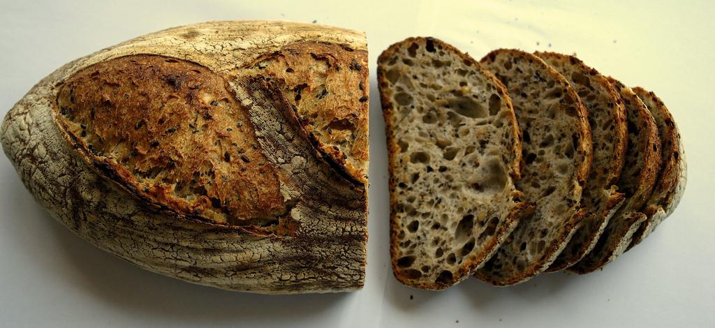 paine cu seminte 12 Paine cu seminte   Sourdough Seed Bread