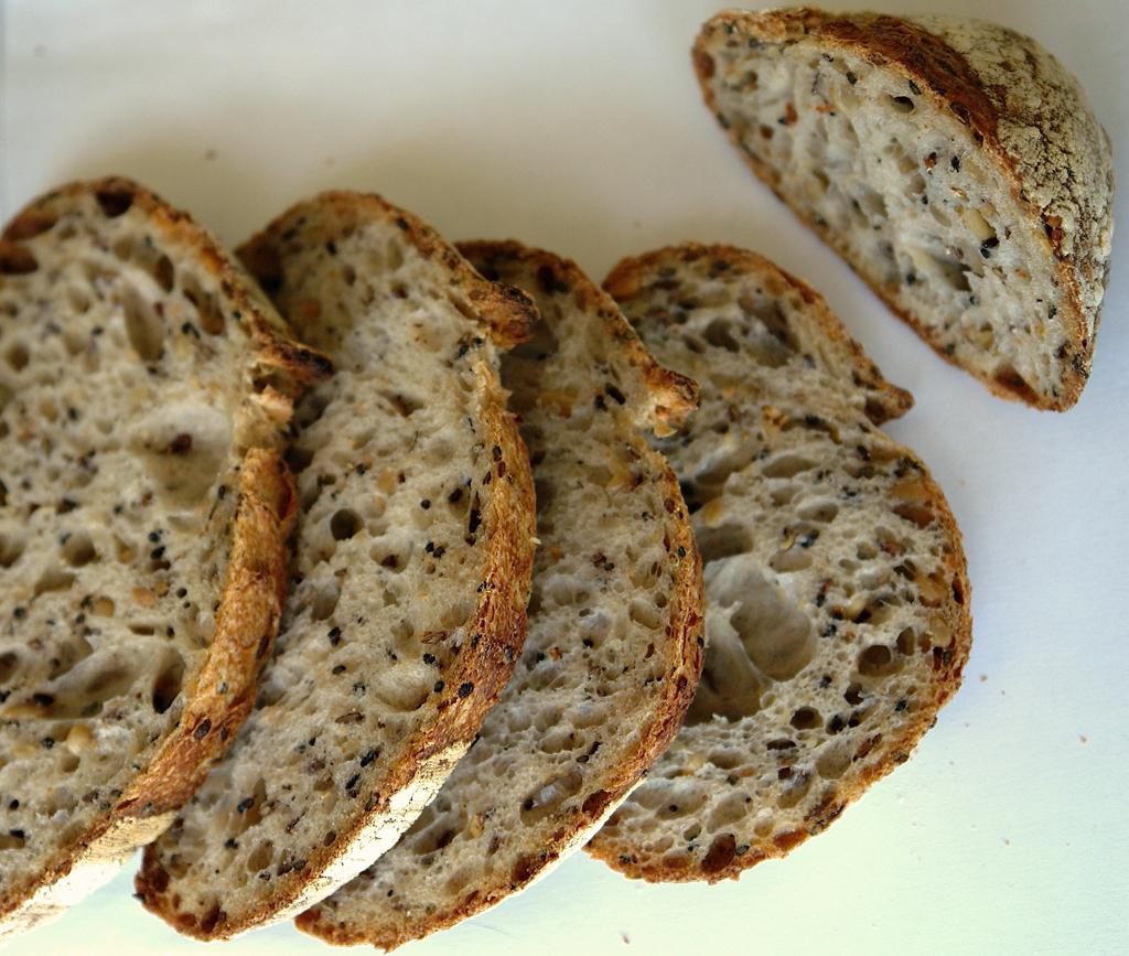paine cu seminte 13 Paine cu seminte   Sourdough Seed Bread