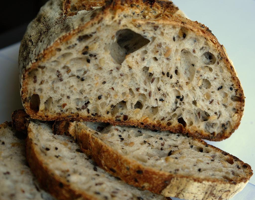 paine cu seminte 15 Paine cu seminte   Sourdough Seed Bread