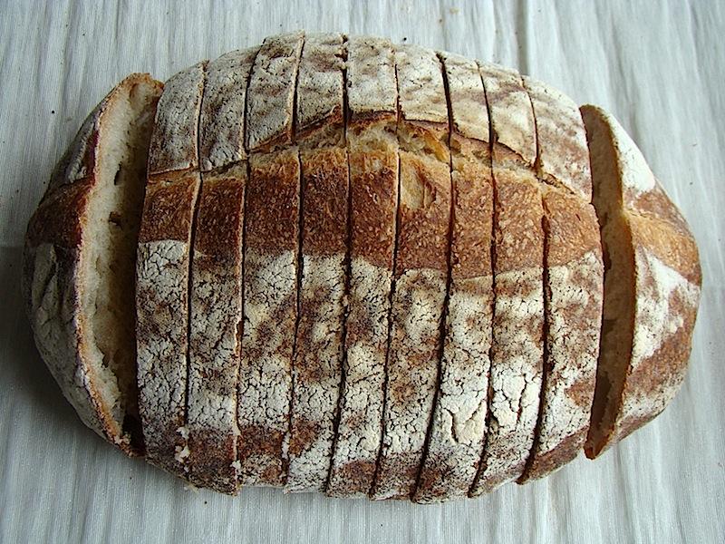 paine feliata Painea cu gust de acasa   Simple Sourdough Bread