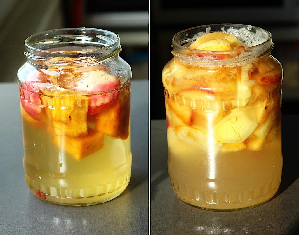 apple yeast water 01 Mere, soare, povesti si o jucarie noua