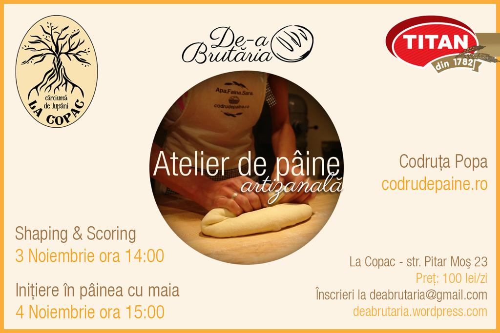 atelier codruta 1296v2 Doua ateliere de paine. In Bucuresti. 3 4 noiembrie.